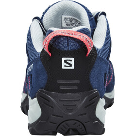Salomon Kinchega Shoes Women stateblue/black/madder pink